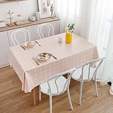Yinaa Rectangular Tablecloth Dining Table Cover
