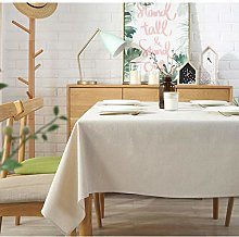 Yinaa Rectangular Tablecloth Oblong Table Cloths
