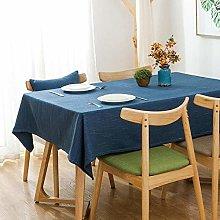Yinaa Shop Rectangle Tablecloth Fabric Cotton