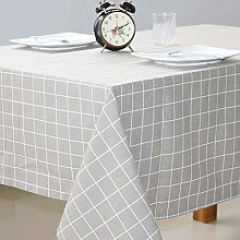 Yinaa Stain Dust Proof Decorative Table Cloths