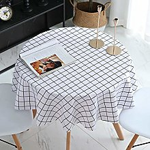 Yinaa Stain Dust Proof Decorative Table Cloths Pvc