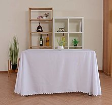 Yinaa Tablecloth for Rectangle Table Wipe Clean