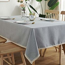 Yinaa Wipe Clean Tablecloth for Party Lightweight