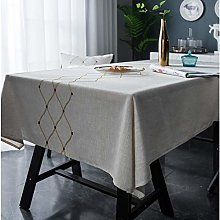 Yinaa Wipe Clean Tablecloth for Party Soft and