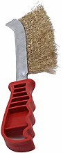 Yinew Hand Wire Brush With Plastic Handle Grill