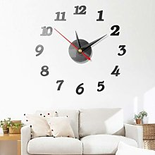 YINGDATETUI Funky Modern Large Wall Clock 3D