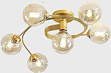 YINGTAO22-SHOP Pendant Lights 6- lights Glass