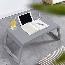 Yinguo Lazy Laptop Bed Table with Drawer, Lap