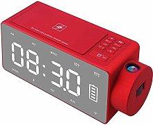 YINGXINXWM Projection Alarm Clock Kids Projection