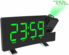 YINGXINXWM Projection Clocks For Bedrooms Radio