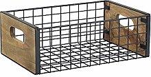 YINMAKE Metal Wire Storage Basket, Multifunctional