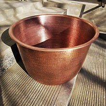 YINOX ThickTraditional Handmade Large Pure Copper