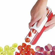 YINROM Fruit Slicer, Tomato, Grape, Cherry Slicer,