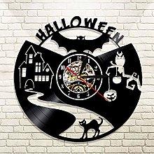YINU 1Piece Halloween Vampire Bat Vinyl Record