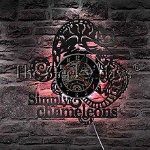 YINU 1Piece Simply Chameleons Vinyl Record Wall