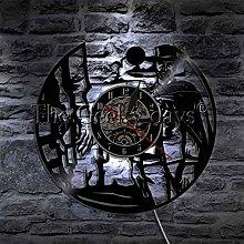 YINU 1Piece Western Shadow Art Decor Cowboy Wall