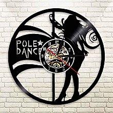 YINU Pole Dancer Clock Night Club Girl Sexy Female