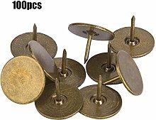 Yinuoday 100Pcs Upholstery Tacks Furniture Nails
