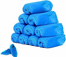 yiqi 100 Pack Shoe Covers-Disposable Hygienic, Non
