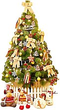 YIQQWS Artificial Christmas Tree, Decorations
