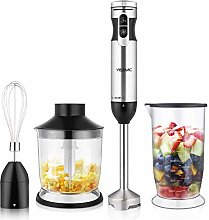 YISSVIC 4 In 1 Hand Blender 1000W Immersion Hand