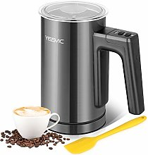 YISSVIC Milk Frother Electric Milk Steamer 300ml