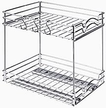 YIYIO Pull Out Spice Rack Organizer for