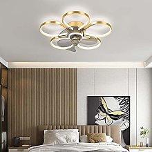 YIYUN Fan Ceiling Light Ceiling Fan with LED