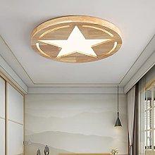 YIYUN Kids Wood Ceiling Lights for Bedroom Modern