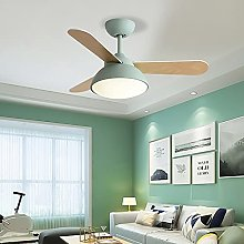 YIYUN Silent Ceiling Fans with Lights And Remote