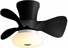 YIYUN Small Ceiling Fan with Light Mute Fan