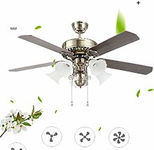 YIYUN Workspace Ceiling Fan with Led Lighting,
