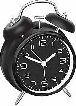 YiYunTE Classic Retro Twin Bell Alarm Clock Non