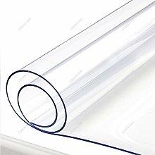 Yizunnu 1.5mm Clear PVC Tablecloth Waterproof Soft
