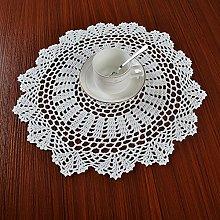 Yizunnu 4Pcs/set White Vintage Crochet Lace