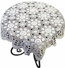 Yizunu Vintage Hand Crochet Lace Doily Square