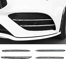 YJCJNB Car Center Mesh Grill For Mercedes -Benz C