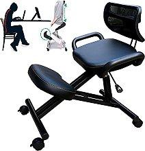 YJDQ Ergonomic Kneeling Chair,Adjustable Sitting