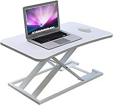 YJDQ Folding Desk Table,Adjustable Laptop Bed