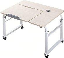 YJDQ Folding Desk Table,Computer Standing Desk