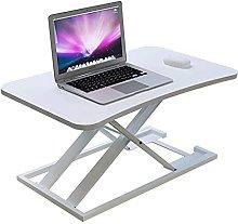 YJDQ Folding Desk Table,Laptop Bed Table, Folding