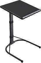 YJDQ Folding Desk Table,Mobile Rolling Laptop
