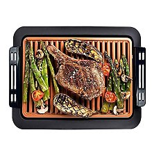 YJDQ Grill Electric, Portable BBQ Indoor Outdoor