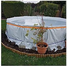 YJFENG Greenhouse Black and White Grow Film,