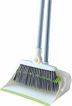 YJFENG Long Handle Broom Sets Dustpan and Brush