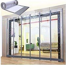 YJFENG Magnetic Screen Door, Transparent Thermal