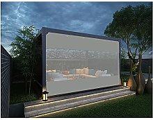 YJFENG Outdoor Patio Tarp Waterproof Curtain,