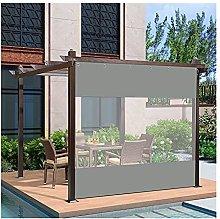 YJFENG Outdoor Tarp Curtain, Pergola Waterproof