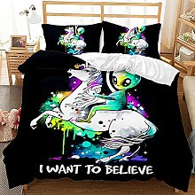 YJJYLMT Duvet Covers King Size Beds Astronaut And