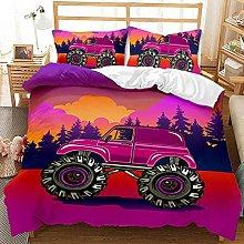 YJJYLMT Duvet Covers King Size Beds Pickup Truck